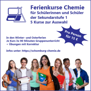 Ferienkurs Chemie